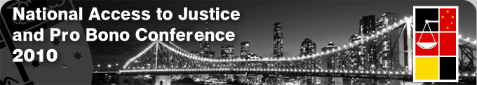 National Access to Justice & Pro Bono Conference 2010