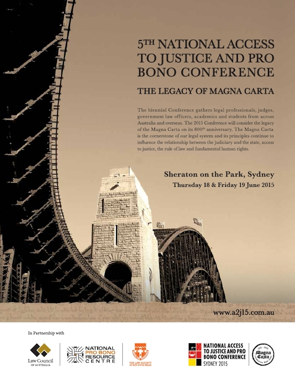 5th National Access to Justice & Pro Bono Conference