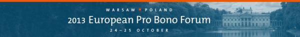 EuropeanProBonoForum2013