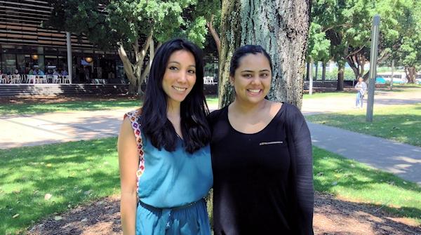 Amina and Priya