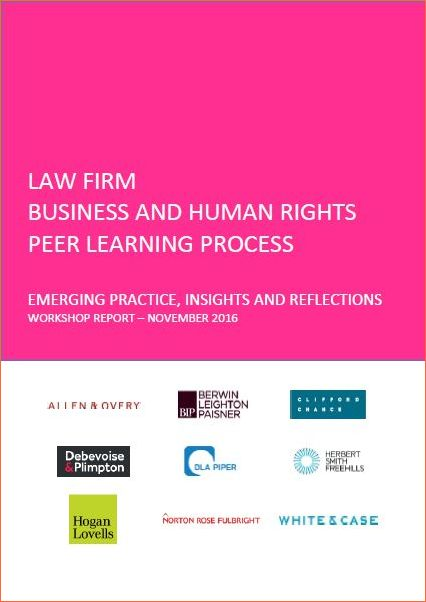 Firm Business and Human Rights Peer Learning Process