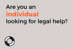 Are you an individual looking for legal help?