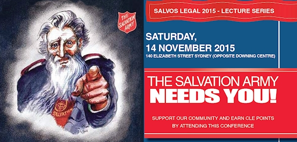 Salvos Legal Lecture Series