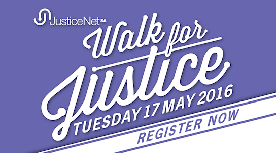 Walk for Justice Adelaide 2016
