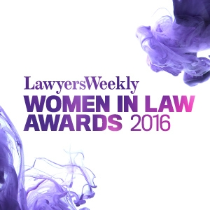 Lawyers Weekly Women in Law Awards 2016